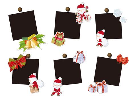 Christmas Polaroid Photography
