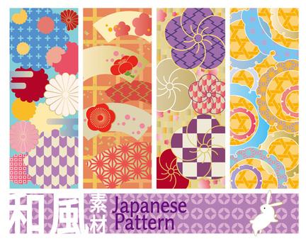 Japanese pattern · Japanese style pattern