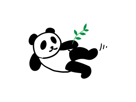 Panda of killing time ...