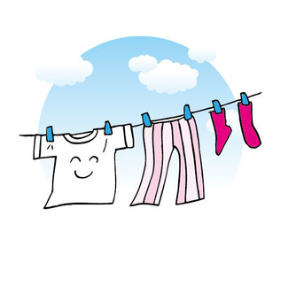 Hang the laundry