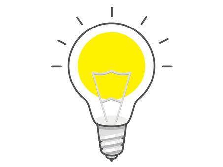 Light bulb (lit)