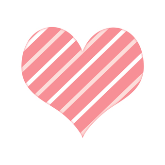 Stripe Heart 1