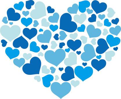 Heart is full (blue)
