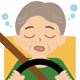 Driving (doze and older male)