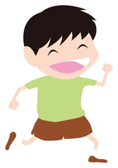 Energetic child (boy)