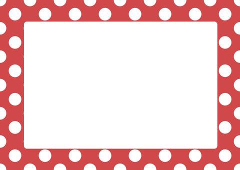 Dot frame (red)