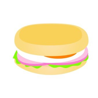 Muffin sandwich