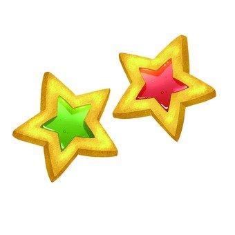 2 star cookies