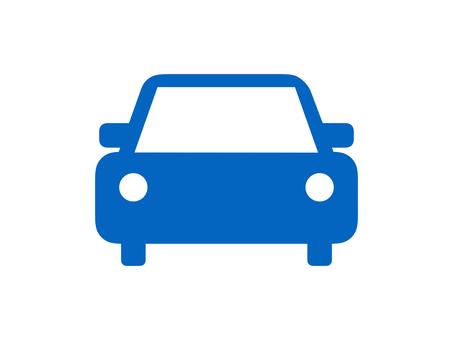 Car Vehicle Silhouette Blue