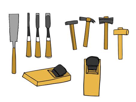 木槌シルエット イラストの無料ダウンロードサイトシルエットac