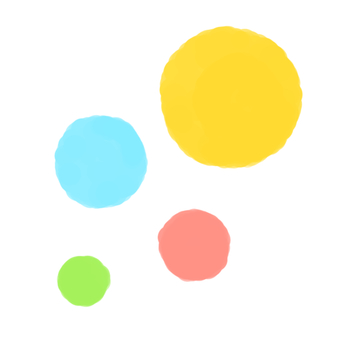 Pastel colored circles
