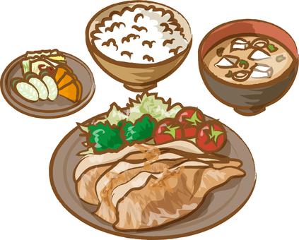 Set gourmet diet