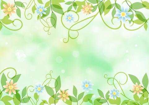 만초와 꽃 _ 그린 배경