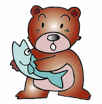 Salmon and Bear