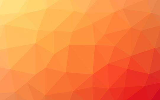 Wallpaper * Polygon pattern (Orange)