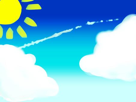 Blue Sky and Sky Cloud