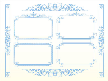 Antique Western-style Frame 05-2