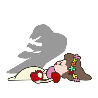 白雪姫と毒りんご