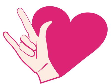 I LOVE YOU (手話)