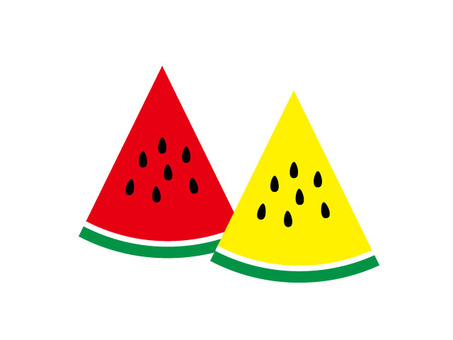 2 watermelons