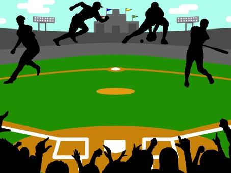 Baseball support stadium