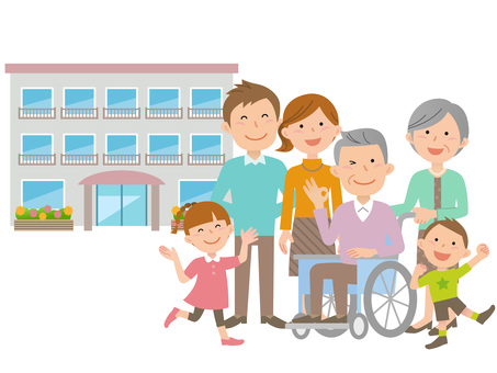 60202. Long-term care facility, six people family