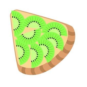 Kiwi Tart 1 cut