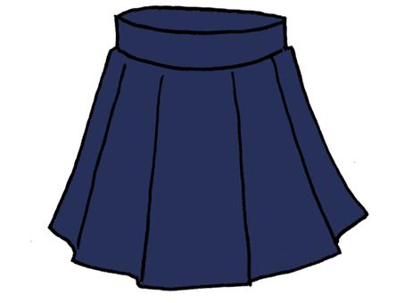 女子制服スカート