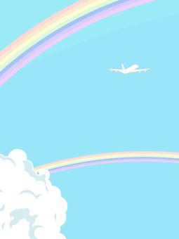 Sky and plane 4