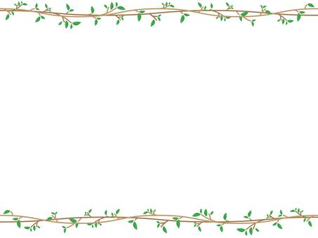 Tree and leaf frame 2