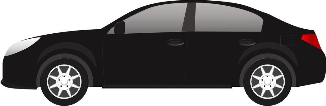 Car (Sedan Black)