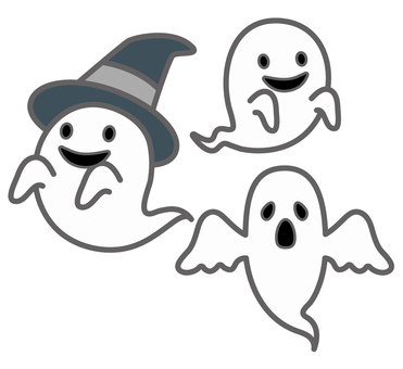 Halloween ghost illustration