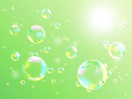 Fluffy flying fantastic bubbles 02