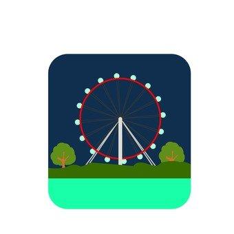 Ferris wheel of Singapore