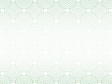白色背景上的圓的幾何圖案