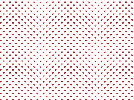 心臟模式白色