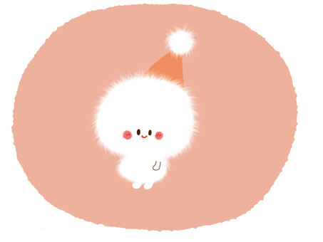 Yukinko orange hat