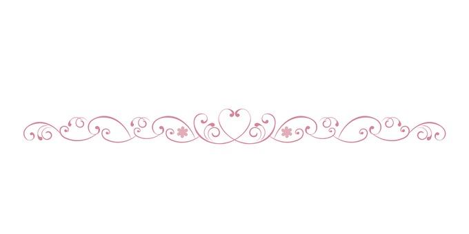 Heart's floral line (ver.8)