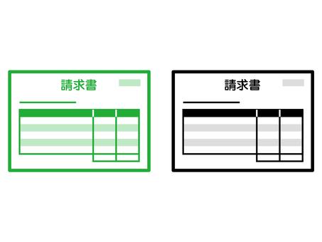 Invoice icon 002
