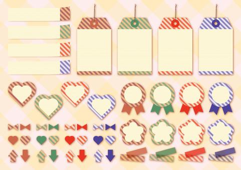 Tag · Fixener 【Stripe 02】