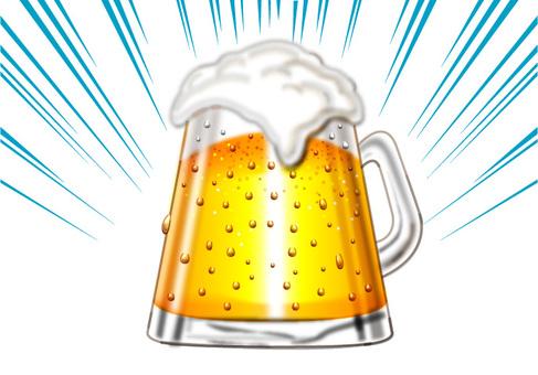 Beer toast D
