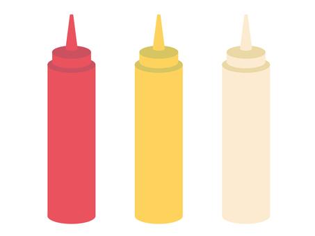 Ketchup, Mustard, Mayo
