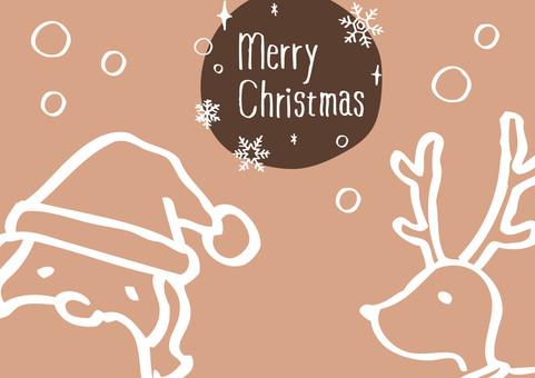手绘圣诞节10