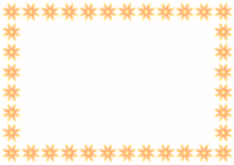 Flower Frame · Orange