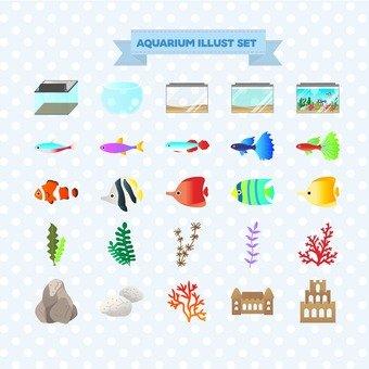 Illustration of aquarium