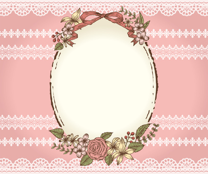 Plant frame race pink