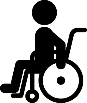 Person in wheelchair Welfare medical care