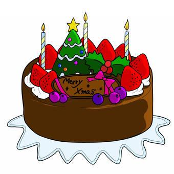圣诞蛋糕3