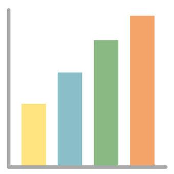 Bar graph - colorful -