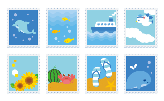 Summer Stamp Wind Inspiration
